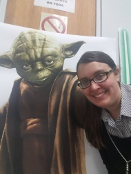 Star Wars Jedi Training Program as Youth Librarian at Westerville Public Library